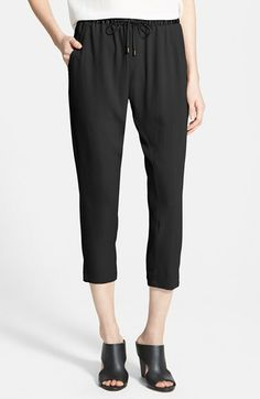 Eileen Fisher Silk Ankle Pants (Regular & Petite) available at #Nordstrom