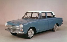 Ford Cortina 1962 - flashiest car of the time