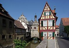 Marktbreit, Germany is a beautiful little town in Bavaria on the Main River. Kitzingen Germany, Great Places, Places Ive Been, Romantic Road, Bavaria, Germany Travel, Maine, Sweet Home, Europe
