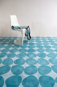 Stone - icicle/azure - Collection 2012 - Marrakech Design is a