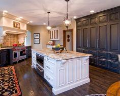 Wayzata Traditional Country Kitchen designed by Belle Kitchen www.bellekitchen.com