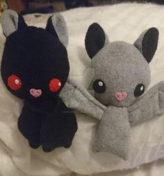 Mini Bats by SewManyTeddies
