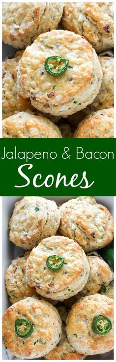 Crispy bacon, lively pepper jack cheese, and fresh jalapeno peppers all combined in one thick, tender, ultra-flavorful scone! Simply put - these are incredible.