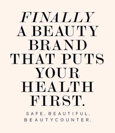 Beautycounter's Mission is to put safe products into the hands of everyone. Having the strictest ingredient selection process in the industry, over 1,500 chemicals are banned from our products. We do the homework for you so you never have to compromise your health in the name of beauty. See our Never List. Browse or shop the line: www.beautycounter.com/lisakarnowski