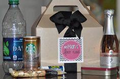 Bachelorette party survival boxes...YES PLEASE!