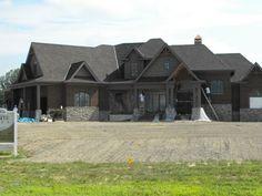 Brick and stone exterior
