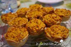Tortine salate di carote - In cucina con Zia Ralù