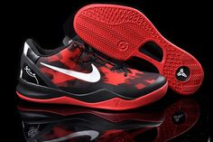 aeff04f9fe1 Cheap Nike Kobe 8 Women Red Black White
