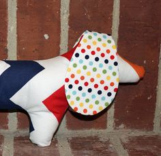 ZiggyKayPup Stitches the Stuffed Dog by fluffygirlboutique on Etsy, $14.99
