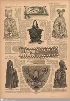 21 [14] - Nr. 2. - Illustrierte Frauenzeitung - Seite - Digitale Sammlungen - Digitale Sammlungen