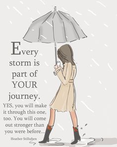 """9c1a076f Heather 🌸 Stillufsen on Instagram: """"Every storm is part of your  journey...some storms last longer than others...but you have the strength to  make it ..."""