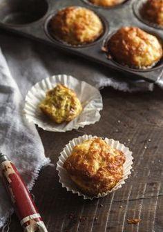 Mini quiches jambon & fromage à la manière d'un muffin