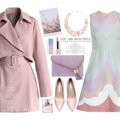 Pretty Pastel Trench Coats