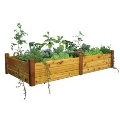 48-inch x 95-inch x 19-inch Raised Garden Bed with Food Safe Finish