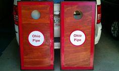 Ohio Pipe custom Cornhole Boards