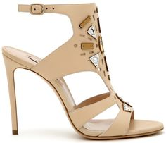 Женские босоножки, высокий тонкий каблук Casadei — 4shopping v3.0