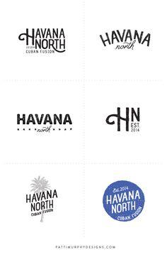 logo design exploratory // Patti Murphy Designs
