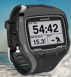 Run Bike Swim | Garmin Forerunner 910XT syncs with Tanita scale