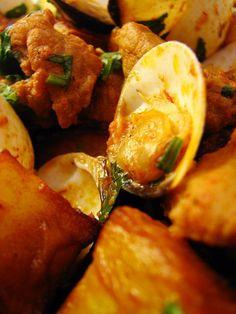 Cinco Quartos de Laranja: Carne de porco à alentejana