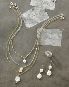 Charisma Necklace | Jewelry by Silpada Designs Versatile necklace, wear several ways! $139
