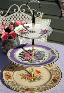 cake stand heaven: New Collection of Mad Tea Party Cake Stands