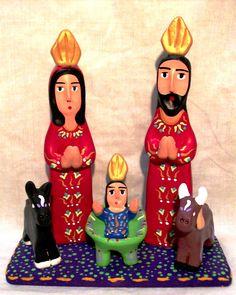 Nacimiento de LUIS ACOSTA CÁCERES. Artesanía venezolana. Imagen tomada de http://luisacostaartesano.blogspot.fr/p/nacimientos.html#