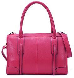 Rose Red Tassel Pu Motorcycle Shoulder Bag #bags, #fashion, #pinsland, https://apps.facebook.com/yangutu