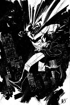batman, by  Matteo Scalera