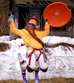 80's Ski Gear: What you need to look Rad. Shoulder Pads!