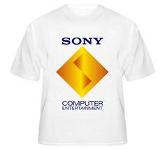 Sony Computer Entertainment Logo T Shirt