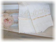 Shabby Chic Bedding by ThePolishedPear on Etsy, $50.00