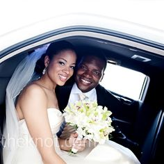 Real Weddings - A Traditional Wedding in Washington, DC - Wedding Limo Transportation