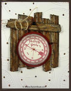 Christmas Time - North Pole Sign