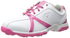 4a70436f9 Amazon.com | Callaway Footwear Women's Cirrus Golf Shoe, White/Pink, 5 M US  | Golf. Adidas Shoes WomenNike ...