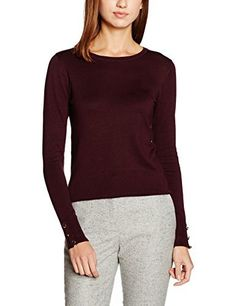 Dorothy Perkins Women's Button Cuff Jumper  buy now from Amazon
