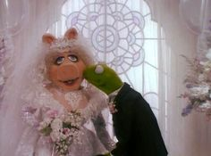 Kermit And Miss Piggy, Kermit The Frog, Jim Henson, Les Muppets, Frank Oz, I Love My Hubby, Fraggle Rock, The Muppet Show, Rainbow Connection