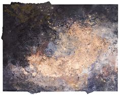 "Genesis 28, Acrylic, Calcium Carbonate, Copper Leaf, Emulsion and Pigments on paper, 24"" x 18"", $500, http://transformgallery.com/Erick-sanchez/"