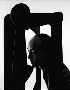 Isamu Noguchi, Japanese American Artist and Landscape Architect, 1947 by Arnold Newman