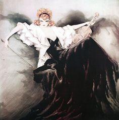 Louis Icart - Illustrations - Femme Fatale