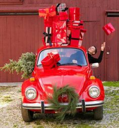 VW Bug Delivery Service
