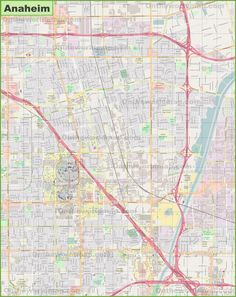 Colorado Springs road map Maps Pinterest Usa cities and City