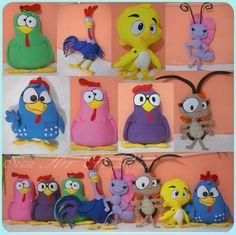 Kit Galinha Pintadinha 8  A VENDA na Sissi Art Em Pano http://sissiartempano.divitae.com.br/produto-65796-kit-galinha-pintadinha-8