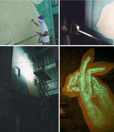reskate studio glow in the dark murals Love Art? Check https://www.etsy.com/shop/urbanNYCdesigns?ref=hdr_shop_menu