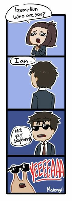 I don't see how this is remotely funny, but It's pretty Cute > Funny // Parasyte