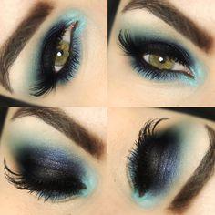 maquiagem-katy-perry Especialmente para os looks azuis!