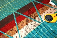 bitty bits & pieces: Scrappy Kaleidoscope Tutorial - using a special template