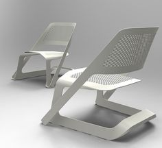 Sleed Track Seating by Choi Minsoo _ ad small wheels to bottom for easy sliding. Office chairs?
