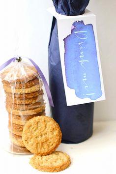 Free printable 'Drink Me' Wine Bottle Tags
