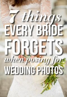 "7 Things Every Bride Forgets When Posing For Wedding Pictures-**EXPLORE an Amazing Collection of ""Theme Matching Wedding Invitation Sets"" GO TO ... http://www.zazzle.com/weddinginvitationkit"