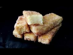 "Nu aţi mai mîncat aşa ceva, desert spaniol ""Leche frita"" ( Lapte prăjit) 